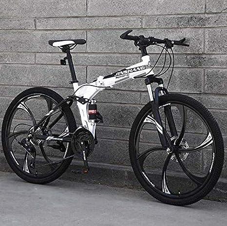 QZ Bicicleta MTB for Adultos, suspensión Completa Bicicletas ...