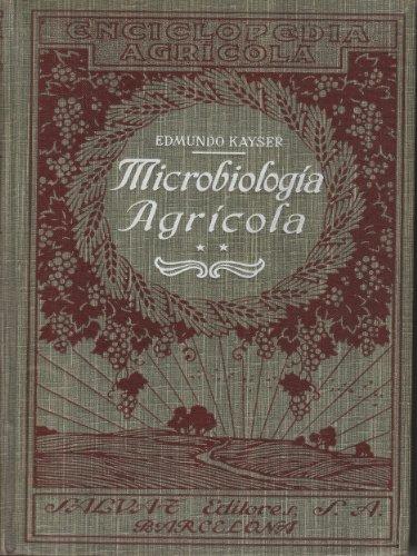 Descargar Libro Microbiología Agrícola Edmond Kayser