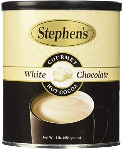 White Chocolate Cocoa (Stephen's Gourmet Hot Cocoa, White Chocolate, 16-Ounce Can)