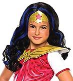 Toys : Rubie's Costume Girls DC Super Hero Wonder Woman Wig