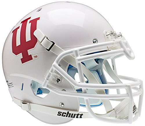 Schutt Indiana Hoosiers Authentic College XP Football Helmet - White - NCAA Licensed - Indiana Hoosiers Collectibles
