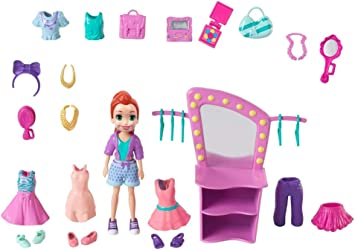 Amazon.es: Polly Pocket Fiercely Fab Studio Fashion Pack: Juguetes ...