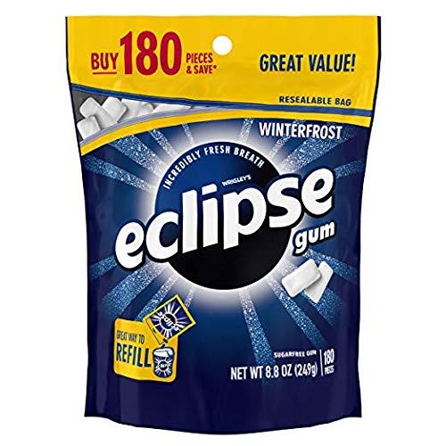 Eclipse Winterfrost Sugarfree Gum, 180 Piece Bag ()