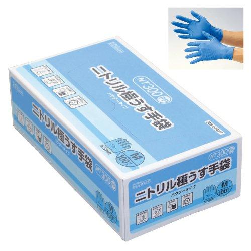 ニトリル極うす手袋 NT300 (23-6073-00) B01KDPQFDW