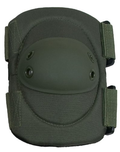 Damascus DEPOD Imperial Hard Shell Cap Elbow Pads, Olive Drab Imperial Olive