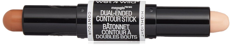 WET N WILD MegaGlo Dual-Ended Contour Stick - Medium/Tan 752A