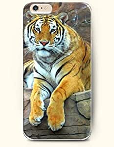 OOFIT iPhone 6 Case ( 4.7 Inches ) - Tiger Looks Tired