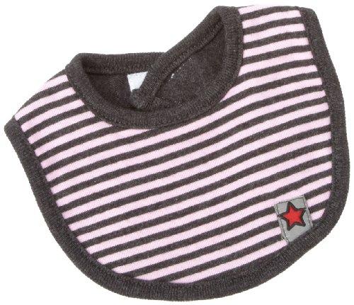 - Kushies Unisex-Baby Newborn Little Star Bib, Pink Stripe, Preemie