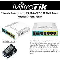 MikroTik Routerboard hEX PoE RB960PGS 5 Port Gigabit Ethernet Router