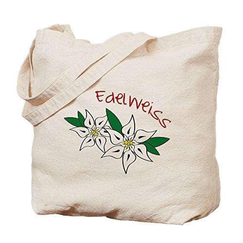 CafePress–Edelweiss–Gamuza de bolsa de lona bolsa, bolsa de la compra