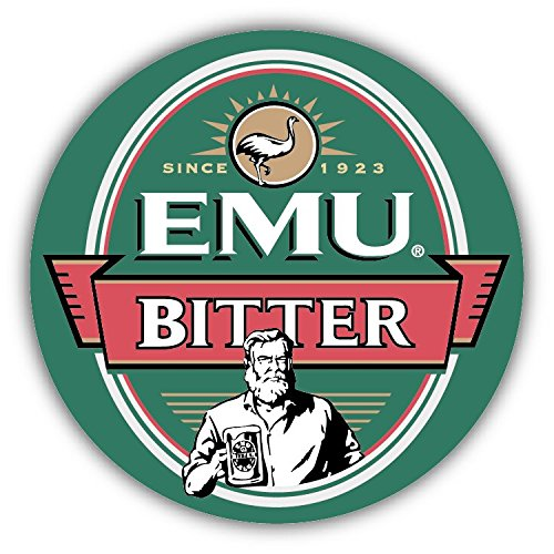 Australia Beer (Emu Bitter Australia Beer Drink Car Bumper Sticker Decal 5
