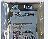 "80GB 2.5"" IDE Hard Drive Western Digital WD800BEVE"