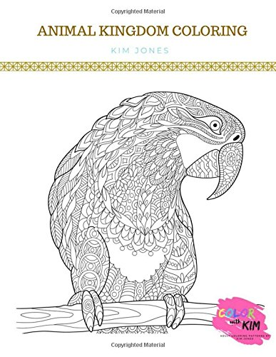 ANIMAL KINGDOM COLORING: Animals and Birds - 2 Adult Coloring Books in 1 PDF