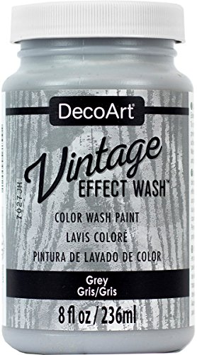 DecoArt Vintage Effect Wash 8oz Grey, Gray