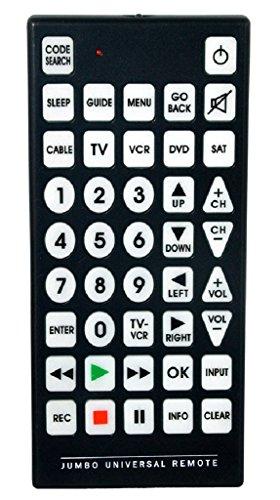 QFX REM-115 Jumbo 8-1 Universal Remote Control