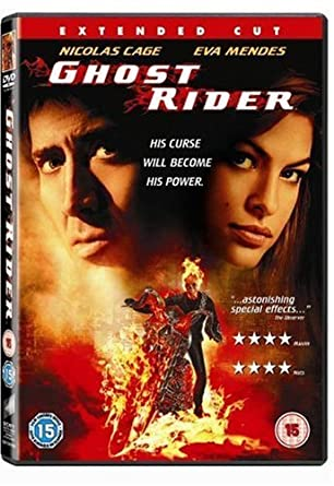 Ghost Rider Extended Cut Dvd 2007 Amazoncouk