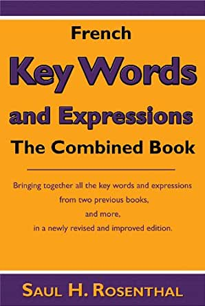 List of keywords in a book