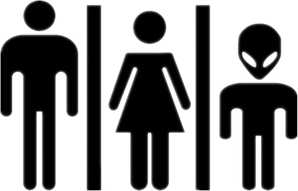 Thinking Room Toilet Paste Wc Door Sign Removable Toilet Wall Stickers E0Xc