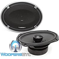 Image Dynamics ID69 100W RMS 6x9 ID Series Full Range Coaxial System with 1 (25mm) Silk Tweeter - Pair