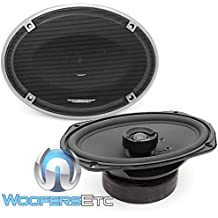 """Image Dynamics ID69 100W RMS 6x9"""" ID Series Full Range Coaxial System with 1"""" (25mm) Silk Tweeter - Pair"""
