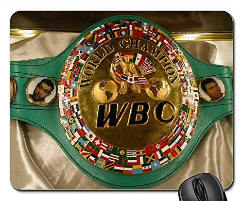 (Mouse Pads - Sport History World Boxing Council Championship Belt)