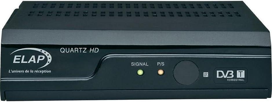 Kit de receptor de TDT HD, 45 dB, Elap 705053 antena: Amazon ...