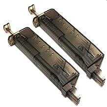 Airsoft Gear Parts Accessories 2pcs Pistol Magazine Shape 90rd Speed BB Loader