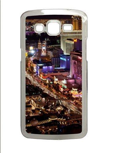 Samsung Grand 7106 Case and Cover -Las Vegas Strip PC Hard Plastic Case for Samsung Grand 2/Samsung Grand 7106 Transparent