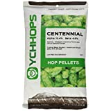 Home Brew Ohio Us Centennial 1 Lb. Hop Pellets for Home Brewing beer Making, Green