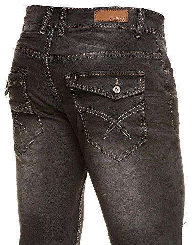 BLZ Jeans - Vaquero - recta - para hombre negro