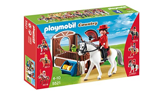 Flamenco Set (PLAYMOBIL Flamenco Horse with Stall Play Set)