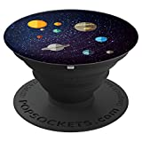 Solar System Astronomy, Space Science Gift - PopSockets Grip and Stand for Phones and Tablets