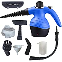 Stonn Handheld Steam Cleaner | Compact & Lightweight Device For Steaming And Ironing, Versatile And Multipurpose, Ideal For Domestic Use, Perfect For Cleaning And Disinfecting Your Home Blue
