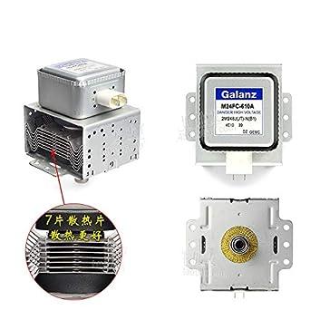 YOUKITTY Magnetron M24FC-610A Horno microondas para piezas ...