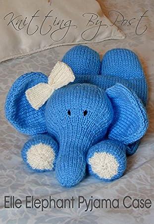 Knitting Pattern Elephant Pyjama Case Amazon Toys Games