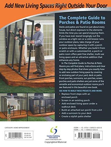 Black & Decker The Complete Guide to Porches & Patio Rooms: Sunrooms, Patio Enclosures, Breezeways & Screened Porches (Black & Decker Complete Guide)