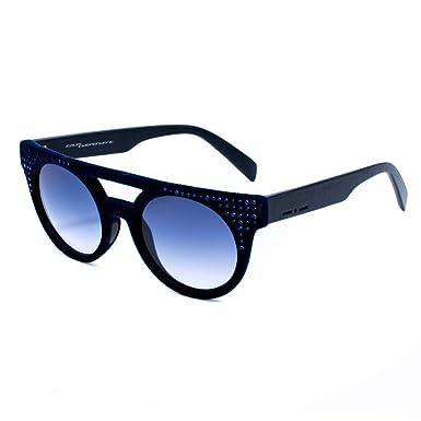 italia independent 0903CV-021-000 Gafas de Sol, Azul, 52 ...