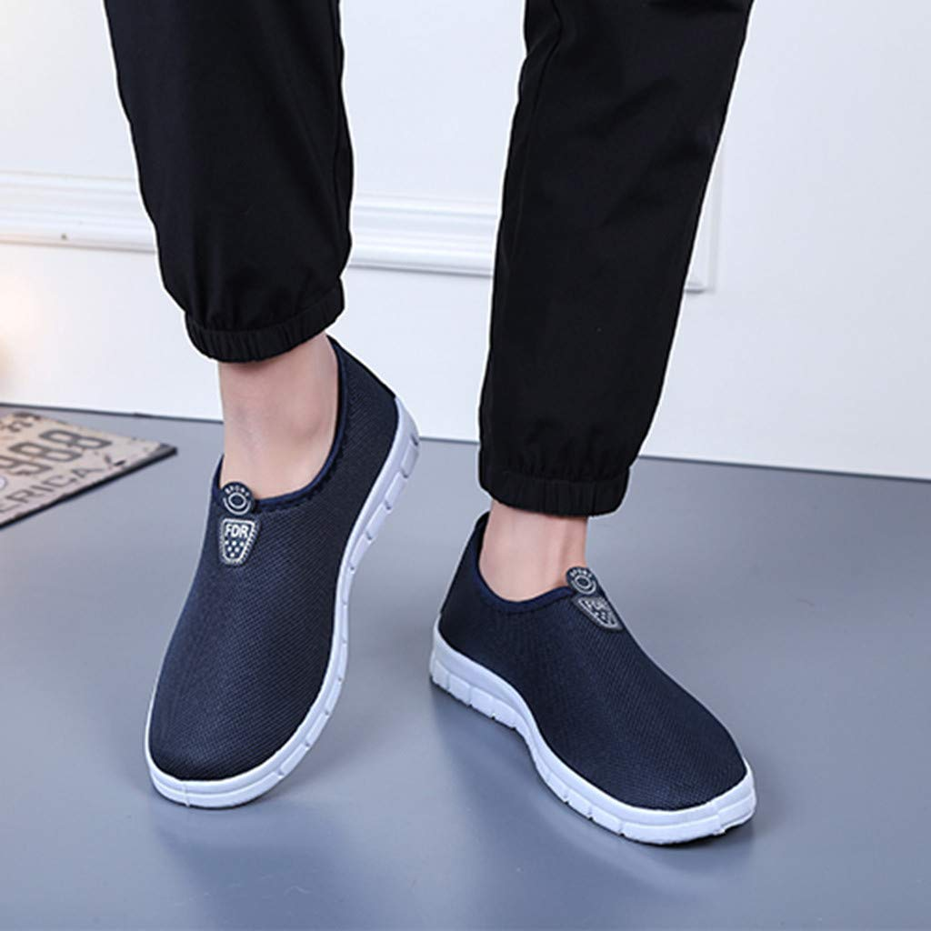 Men's Slip-On Shoes - Sport Sneakers Comfortable Footwears Loafers Shoes,2019 New by MEN SHOES BIG PROMOTION-SUNSEE (Image #2)