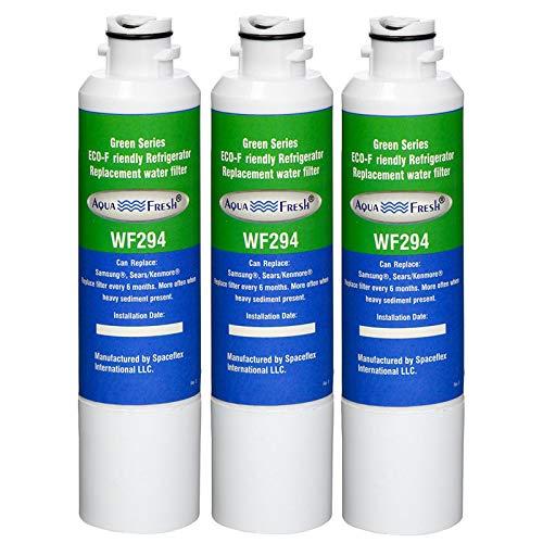 Aqua Fresh Replacement Water Filter for Samsung RF28HMEDBSR/AA Refrigerators ( 3 Pack )