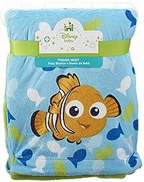 Disney Baby Nemo Printed Velboa Baby Blanket