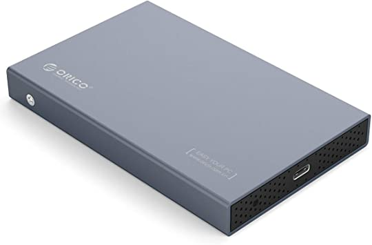 Orico Caja de disco duro de aluminio USB 3.1 tipo C para SATA III ...