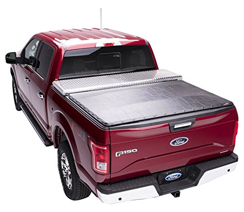 Extang Tool Box Tonno Truck Bed Tonneau Cover | 32445 | fits Chevy/GMC Silverado/Sierra 1500 (5 ft 8 in) 2014-18, 2019 Silverado 1500 Legacy & 2019 Sierra 1500 Limited (Tool Box For Chevy Truck)