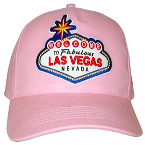 Las Vegas Selection of Adjustable Baseball Hats and Caps Featuring Las Vegas Welcome Sign -