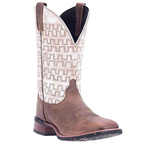 Dan Post Men's Bender Smooth Ostrich Cowboy Boot Square Toe Antique Saddle 11 D(M) (Smooth Ostrich Boots)