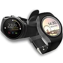 inDigi Hot Smart Watch U-Watch Bluetooth Phone ForiPhone 5s Samsung Android HTC Black [US Seller]