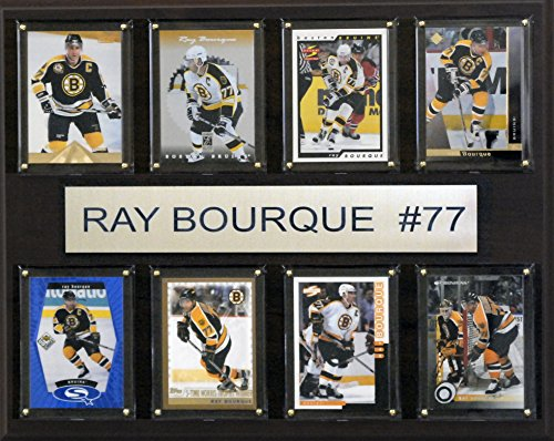 NHL Boston Bruins Ray Bourque 8-Card Plaque, 12 x 15-Inch (Boston Card Nhl Bruins)