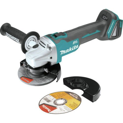 Makita XAG03Z-R 18V LXT Cordless Lithium-Ion 4-1/2 in. Brushless Cut-Off/Angle Grinder (Bare Tool) (Certified Refurbished) (Makita 18 V Grinder)