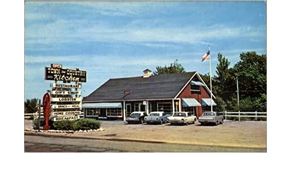 Town And Country Kitchen And Gift Shop Yarmouth, Maine Original Vintage Postcard at Amazons Entertainment Collectibles Store