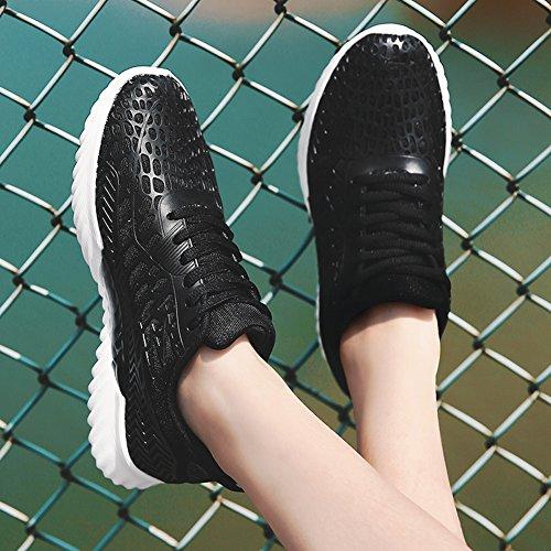 Fitness Running Donna Nero Sneaker Scarpe 35 Torisky Casual Sportive Ginnastica Uomo Corsa 44 Da Mesh T0cqBw