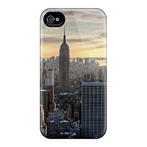 Premium Protective Hard Cases For Iphone 6- Nice Design - Aerial View Of The Empire State Building